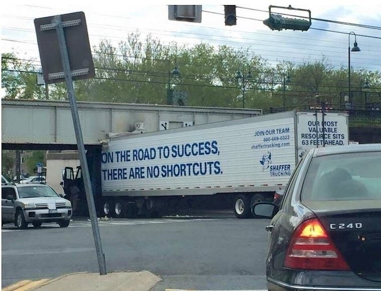 Car - OUR MOST VALUABLE RESOURCE SITS 63 FEETAHEAD. JOIN OUR TEAM: అ శి322 thalfertrucking.com ON THE ROAD TO SUCCESS THERE ARE NO SHORTCUTS SHAFFER TRUCKING C 240