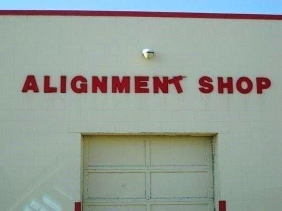 Text - ALIGNMENT SHOP