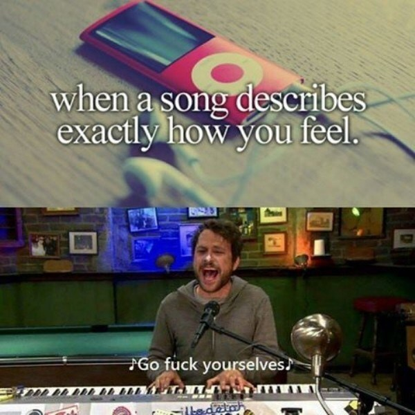Technology - when a song describes exactly how you feel. Go fuck yourselves ilbedatah