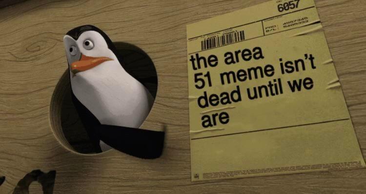 Flightless bird - 6057 arsnvaan PrO the area 51 meme isn't dead until we are