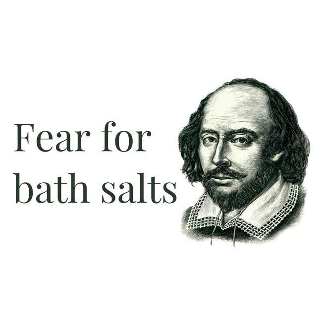 Face - Fear for bath salts