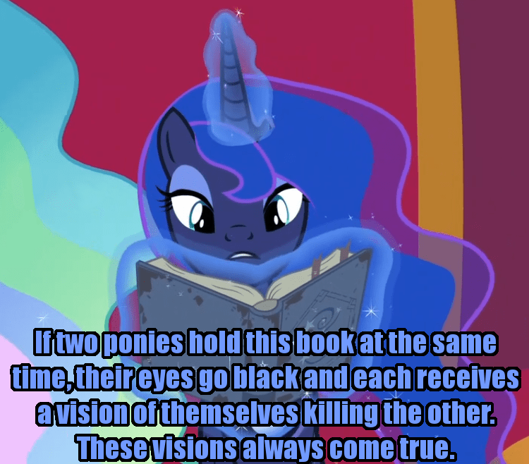 incorrect my little pony quotes screencap princess luna shadow play - 9362352640