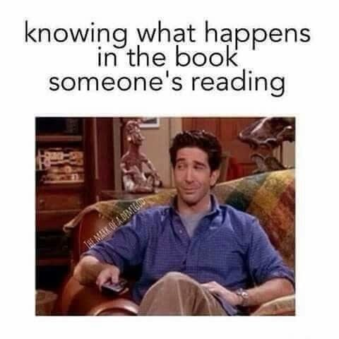 Text - knowing what happens in the book someone's reading JHE MALK DE A DEMIGOD