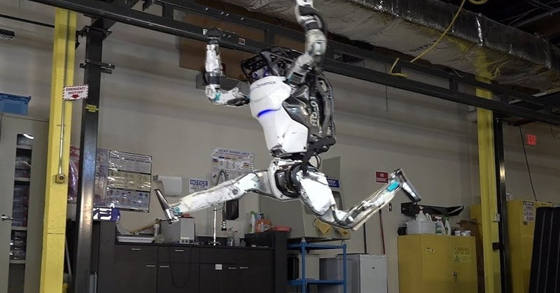 boston dynamics' robot atlas does parkour better than you