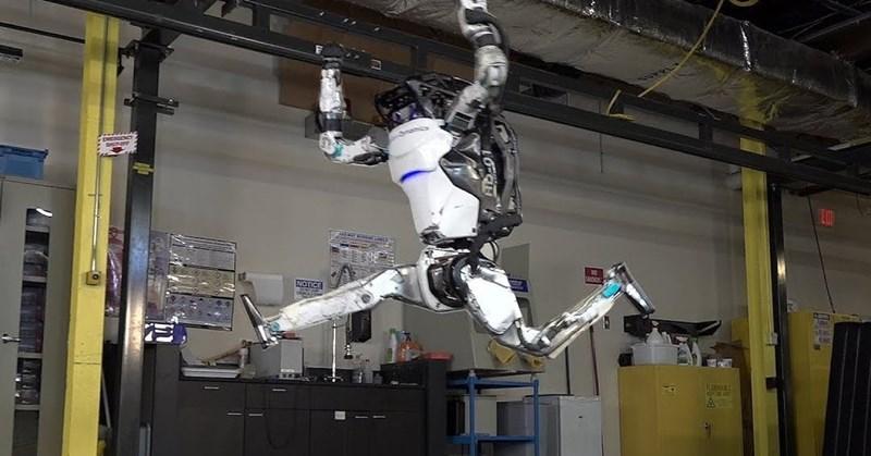 boston dynamics' robot atlas does parkour better than you