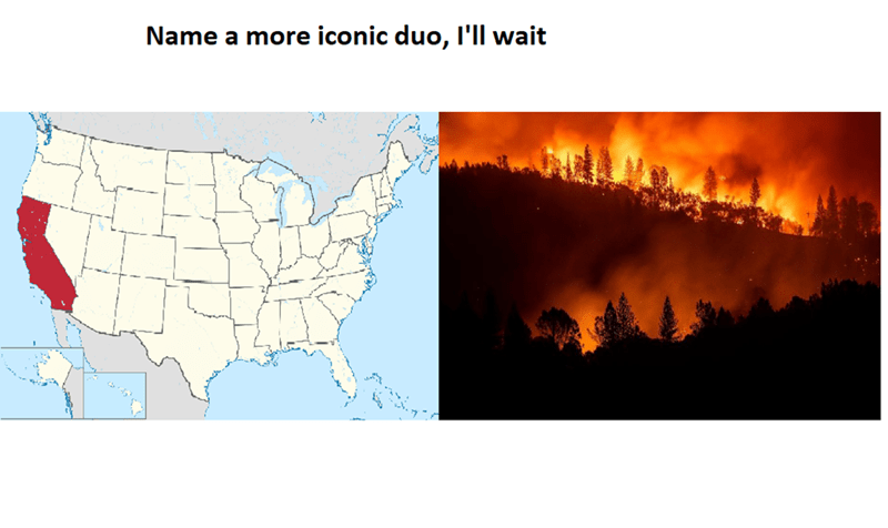 Geological phenomenon - Name a more iconic duo, I'll wait