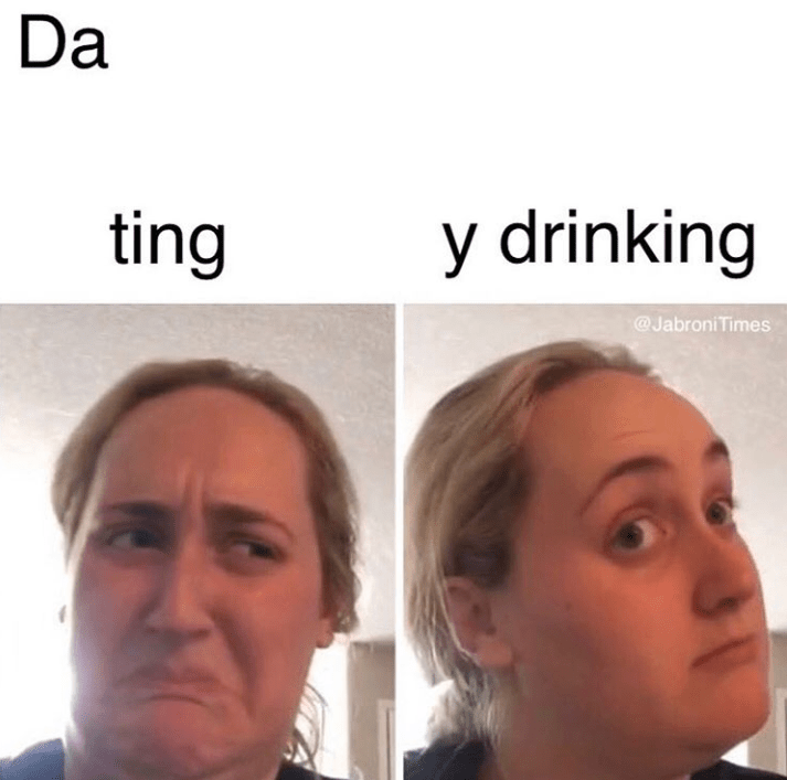 Funny meme about day drinking and how it's preferable to dating