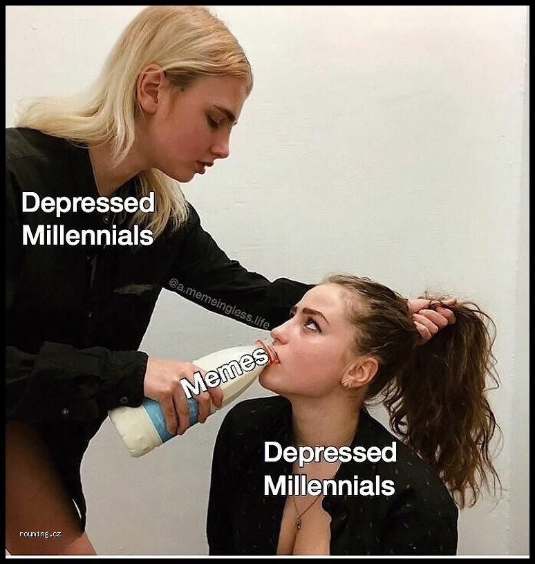 Hair - Depressed Millennials @a.memeingless.life Memes Depressed Millennials rouming.cz