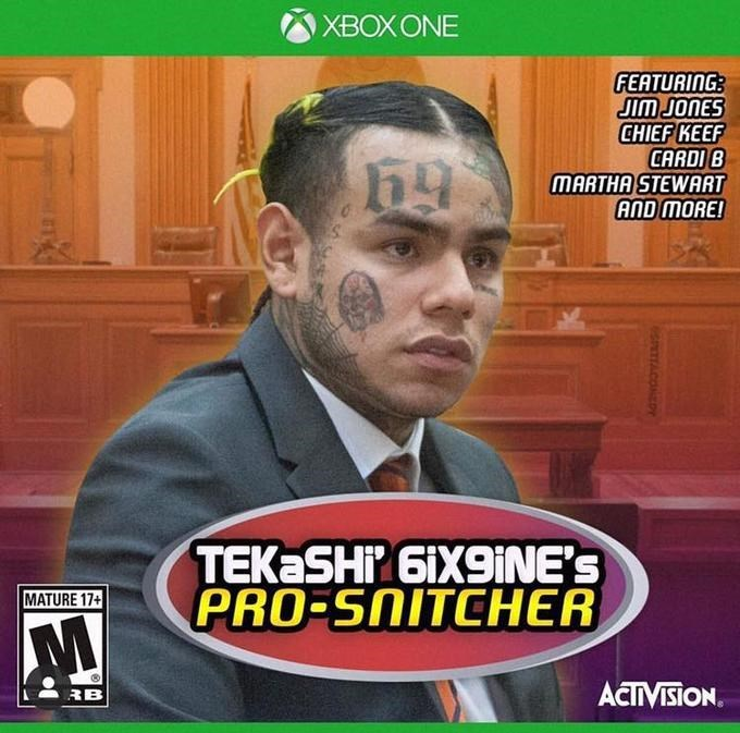 News - XBOXONE FEATURING JIm JONES CHIEF KEEF CARDIB MARTHA STEWART AND MORE! TEK SHP GiX9iNE'S PRO-SNITCHER MATURE 17+ ACTIVISION. RB sPATTACOEDr