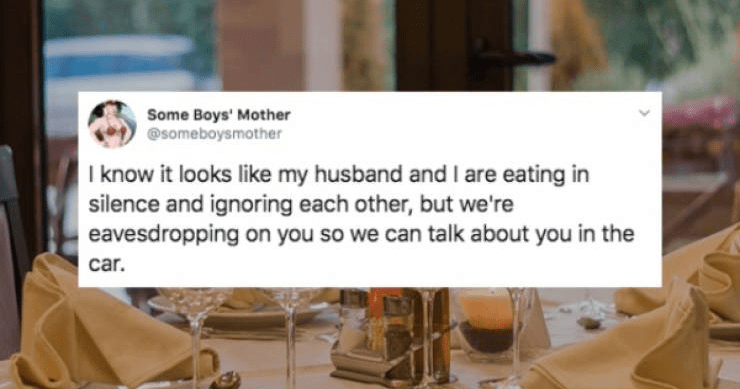 Funny tweets about being married, husbands, wives, marriage memes.