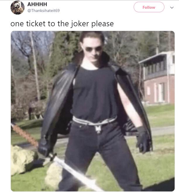 Outerwear - АНННН Follow @Thanksihateit69 one ticket to the joker please