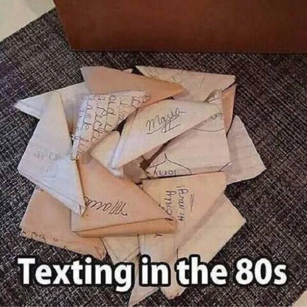 Paper - Textingin the 80s