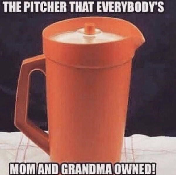 Cup - THE PITCHER THAT EVERYBODY'S MOM AND GRANDMA OWNED!