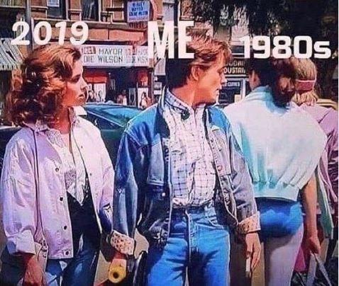 Jeans - ME 2019 1980s CEL MAYOR DIE WILSONS OUSTAIL