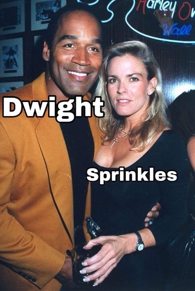 Event - rey O Warll Dwight Sprinkles
