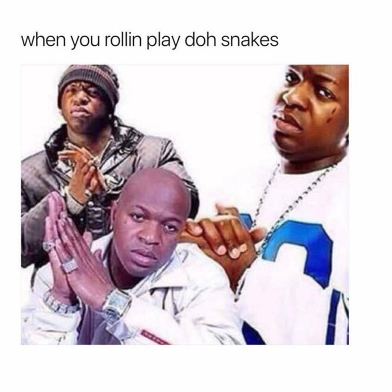 People - when you rollin play doh snakes