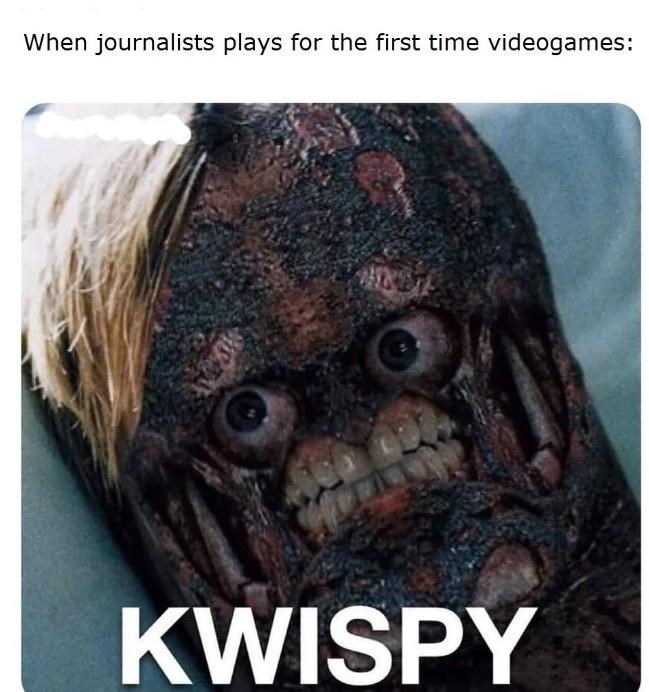 Head - When journalists plays for the first time videogames: KWISPY