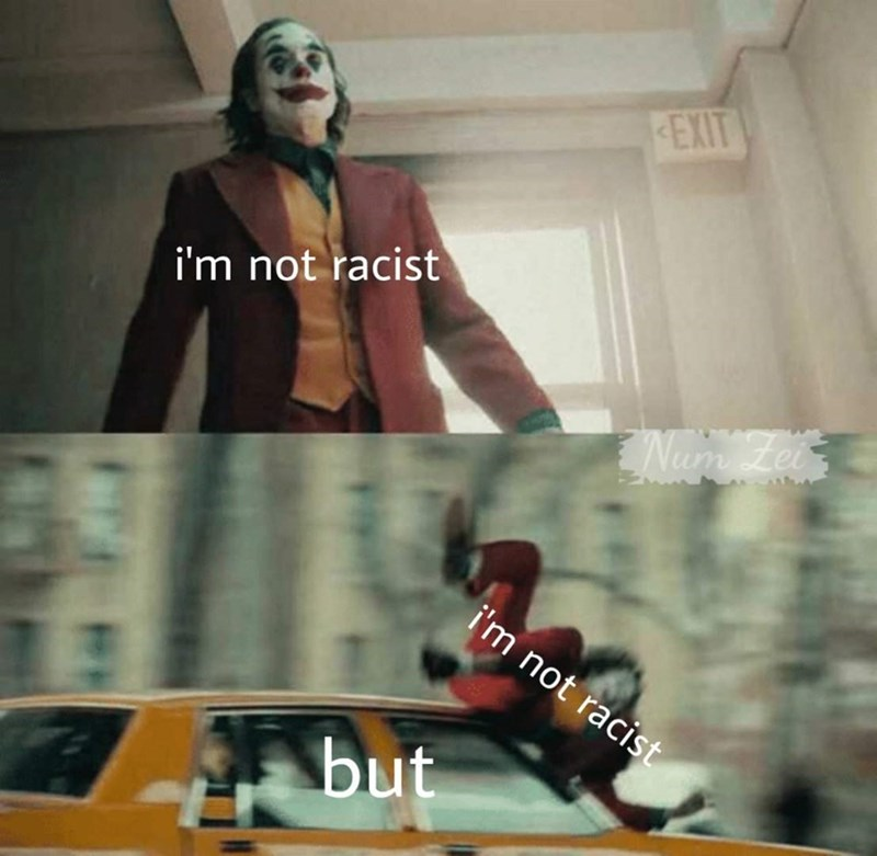 Cool - EXIT i'm not racist Zei i'm not racist but