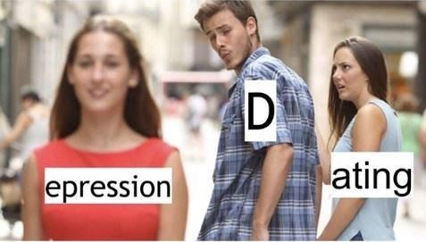 People - ating epression