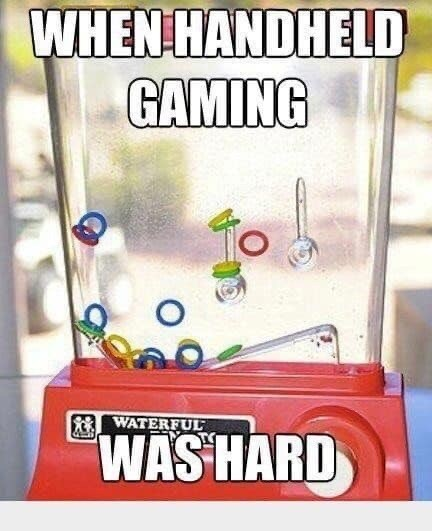Fictional character - WHEN HANDHELD GAMING WATERFUL WAS HARD