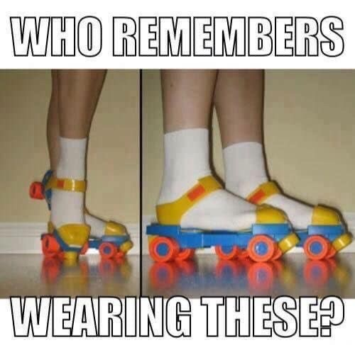 Footwear - WHO REMEMBERS WEARING THESE?