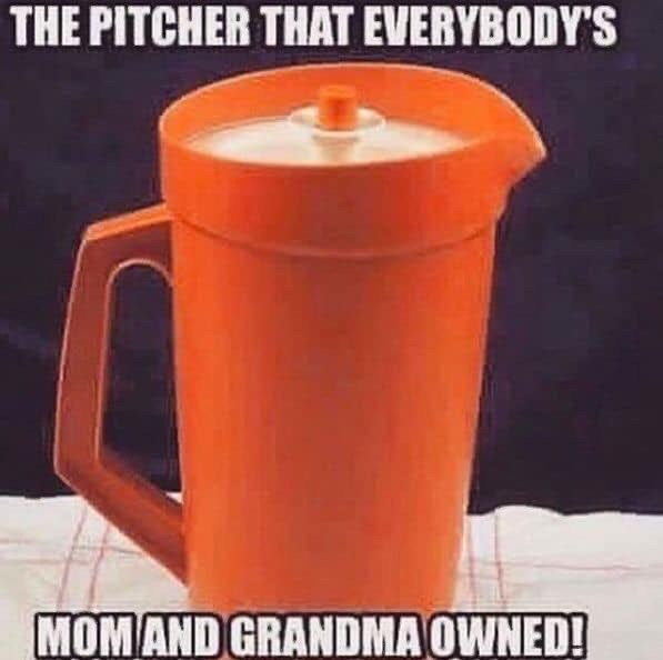 Orange - THE PITCHER THAT EVERYBODY'S MOMAND GRANDMA OWNED!