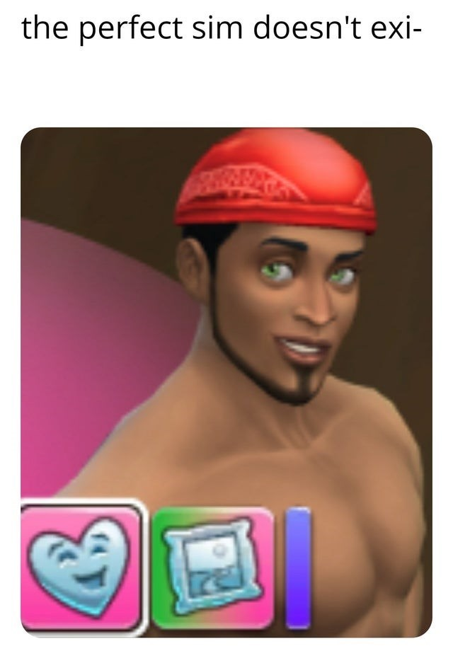 Cap - the perfect sim doesn't exi-