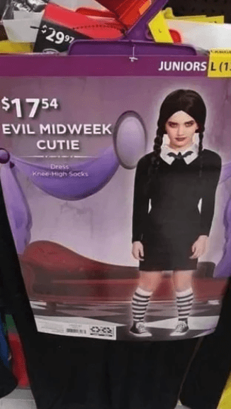 Violet - $29 97 JUNIORS L(1 $17 54 EVIL MIDWEEK CUTIE Dress Knee-High Socks