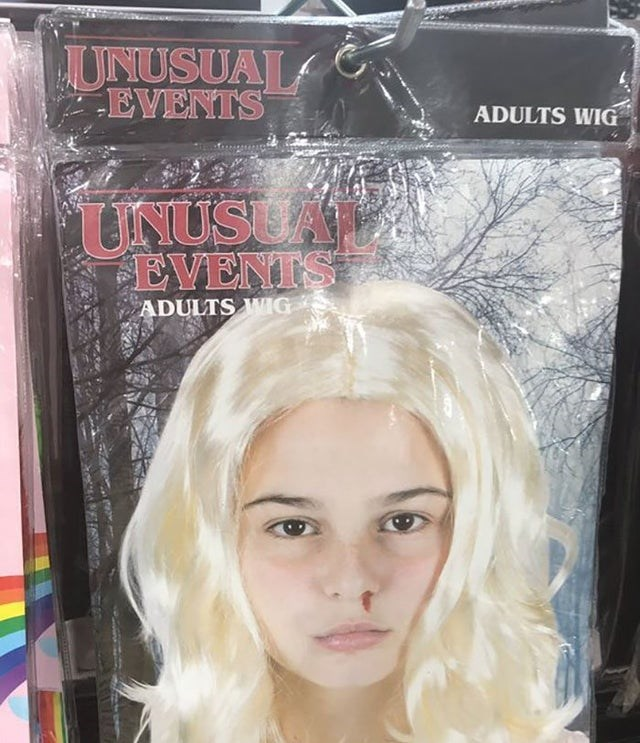 Hair - UNUSUAL EVENTS ADULTS WIG UNUSUAM EVENTS ADULTS WIG