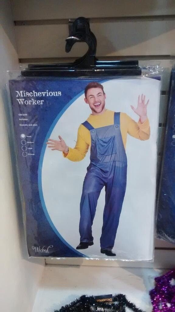 Arm - Mischevious Worker EM-300 ncluds Overalls and shit