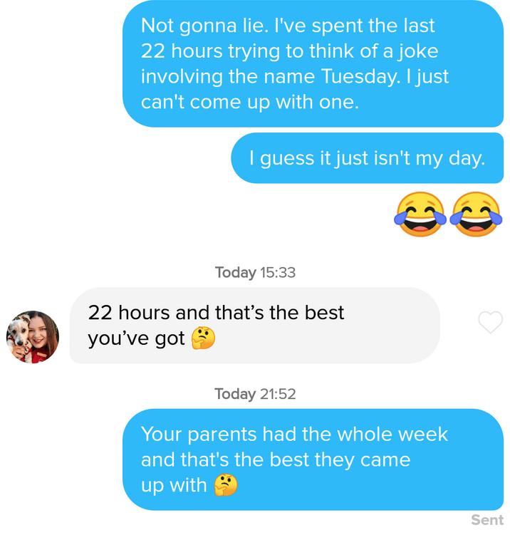 Sexual pick up jokes