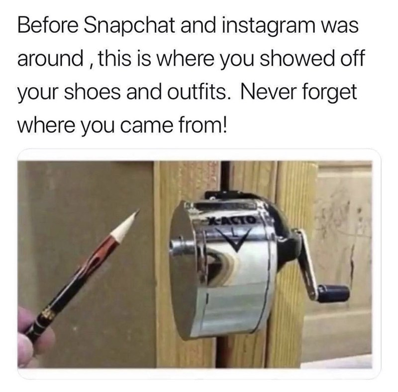 Product - Before Snapchat and instagram was around, this is where you showed off your shoes and outfits. Never forget where you came from! XACTO