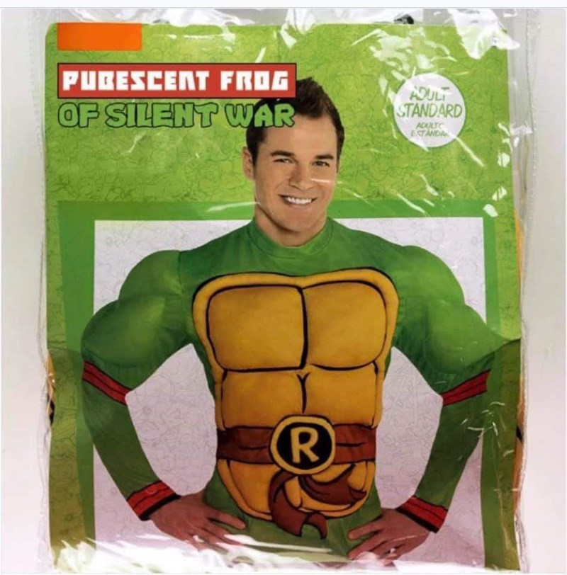 Superhero - PUCESCENT FROG ADULT STANDARD OF SILENT WAR ADULT ESTANDA