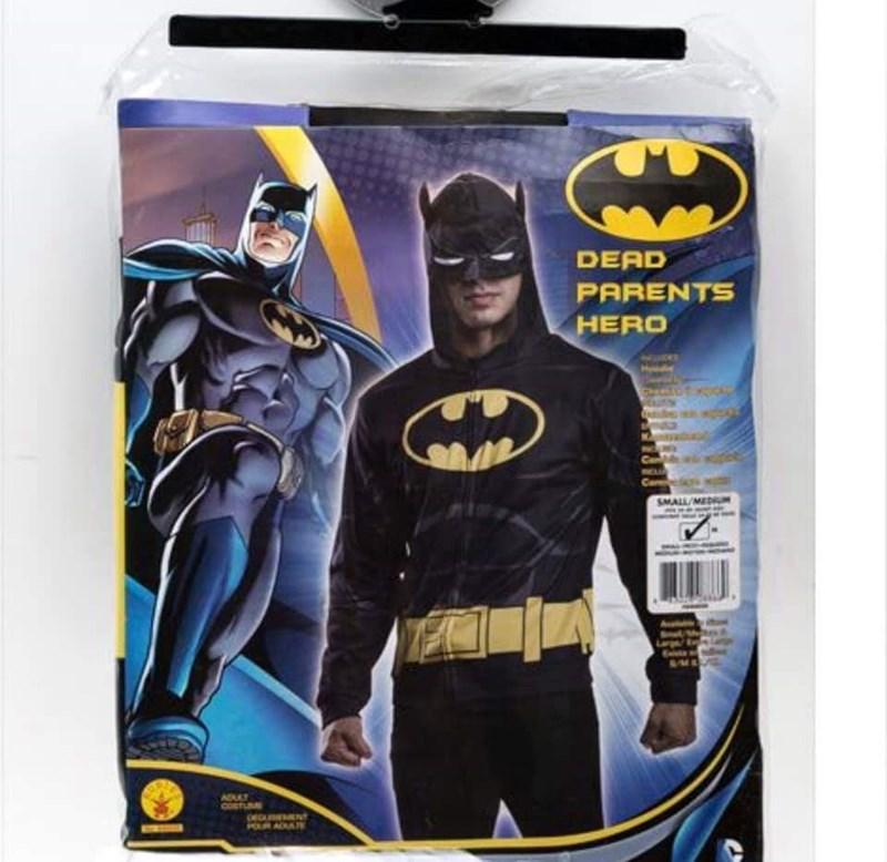 Batman - DEAD PARENTS HERO SMALL/MED Abl COSTU POLRA