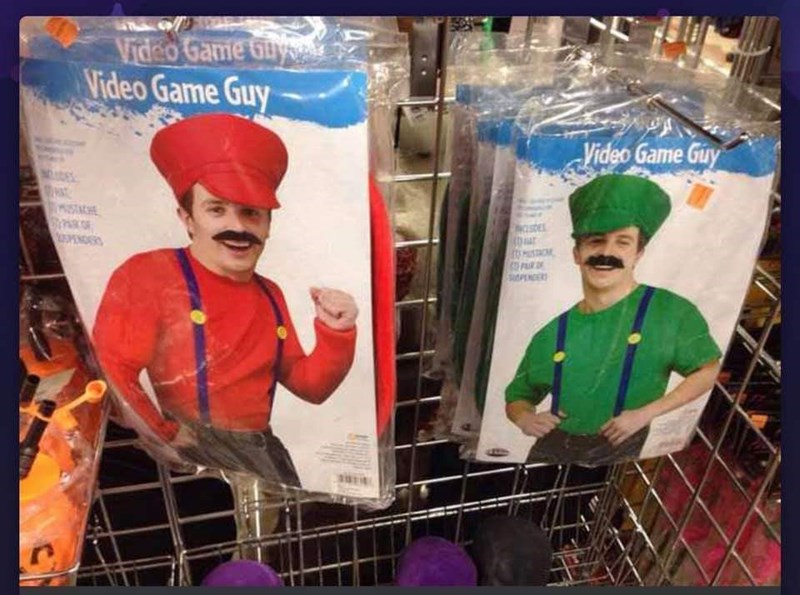 Headgear - Video Game Gay Video Game Guy Video Game Guy STACHE PSTAC PR SuPENDERS