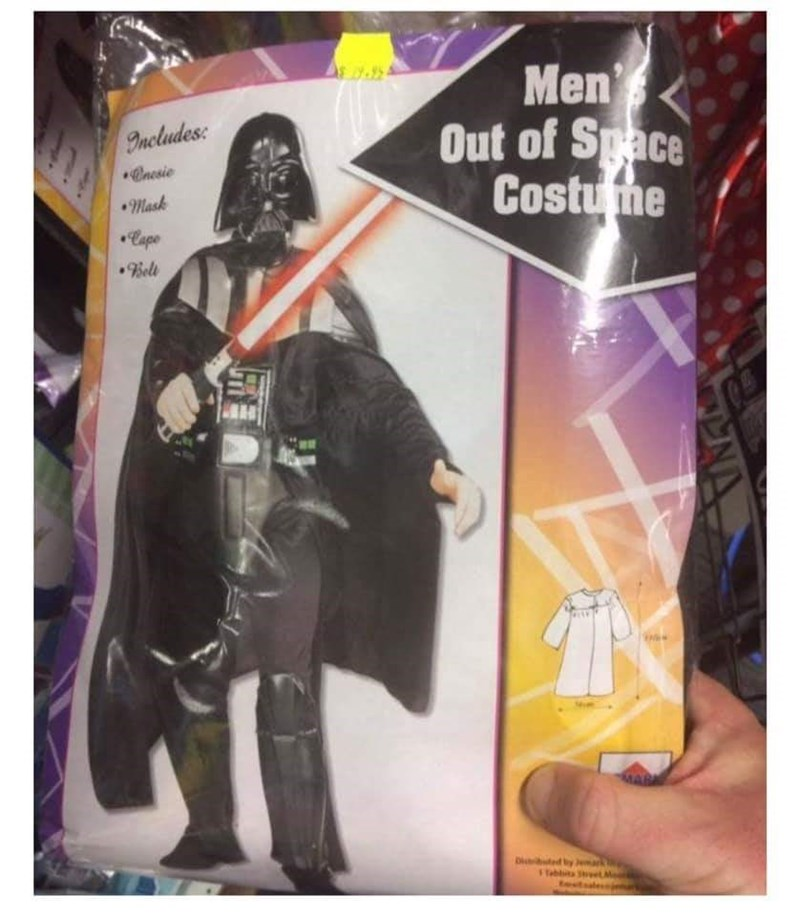 Action figure - 995 Men Out of Space Costume Includes Cnesie mask Cape 9Bell Di d ty Tablita Sy