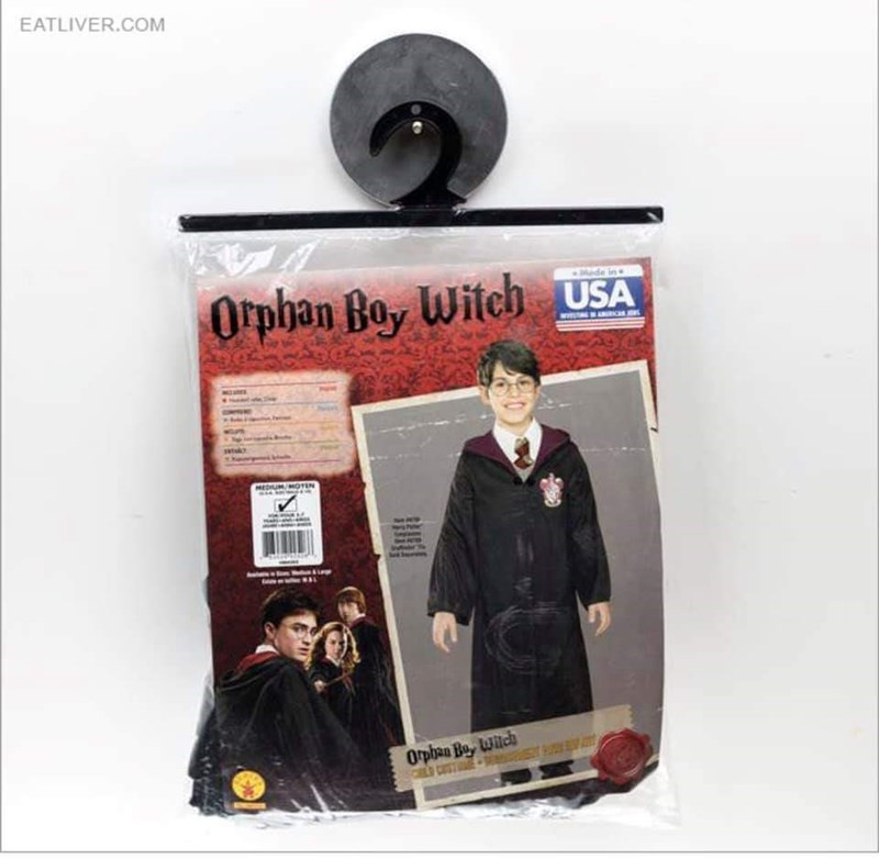 Design - EATLIVER.COM Orpban Boy Witch uSA MEDIUM/MOTEN Orpben Bo, wich CL CST
