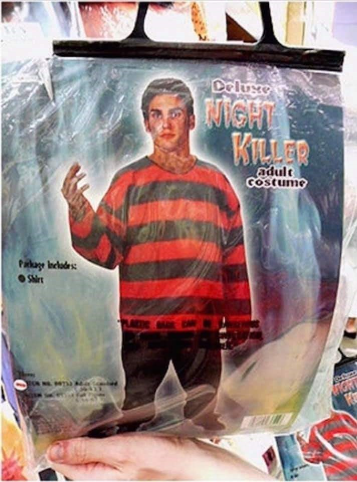 Poster - Deluxe MiGHTS KILLER adult GOStume Parkage Inclodes Shir