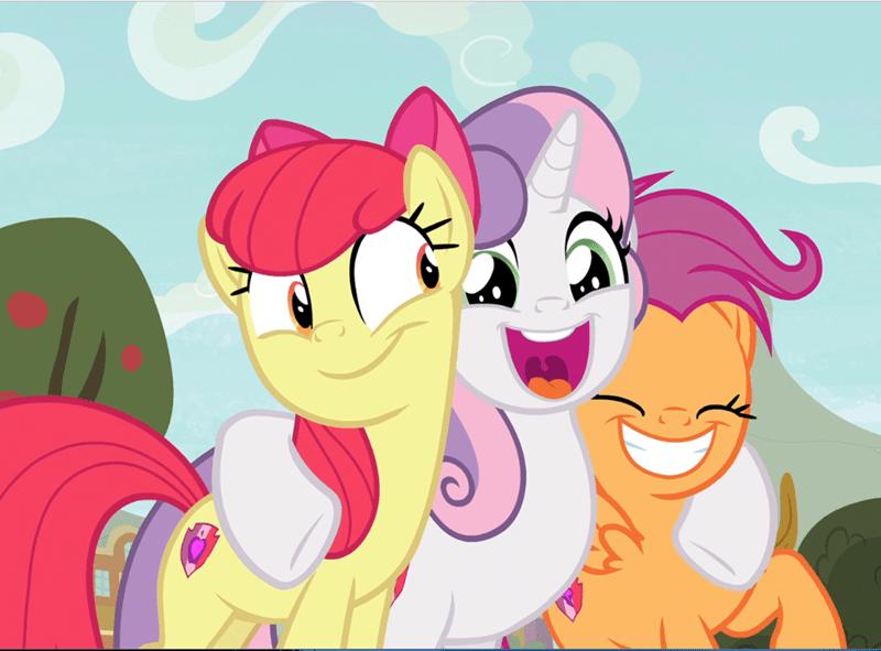 Sweetie Belle growing up is hard to do apple bloom screencap Scootaloo - 9366921728