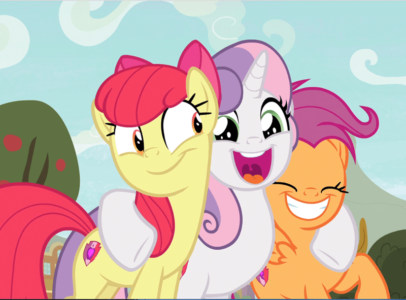 Sweetie Belle growing up is hard to do apple bloom screencap Scootaloo - 9366921728