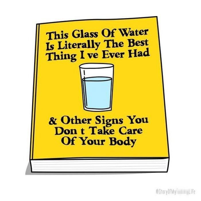 Pint glass - This Glass Of Water Is Literally The Best Thing I ve Ever Had & Other Signs You Don t Take Care Of Your Body eStory OriMy Life