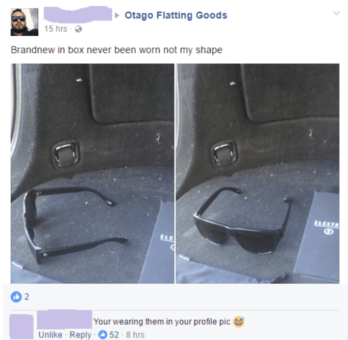 Vehicle door - Otago Flatting Goods 15 hrs Brandnew in box never been worn not my shape 2 Your wearing them in your profile pic
