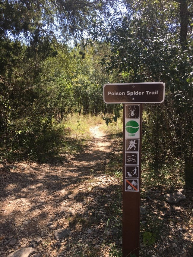 Nature reserve - Poison Spider Trail EASIEST