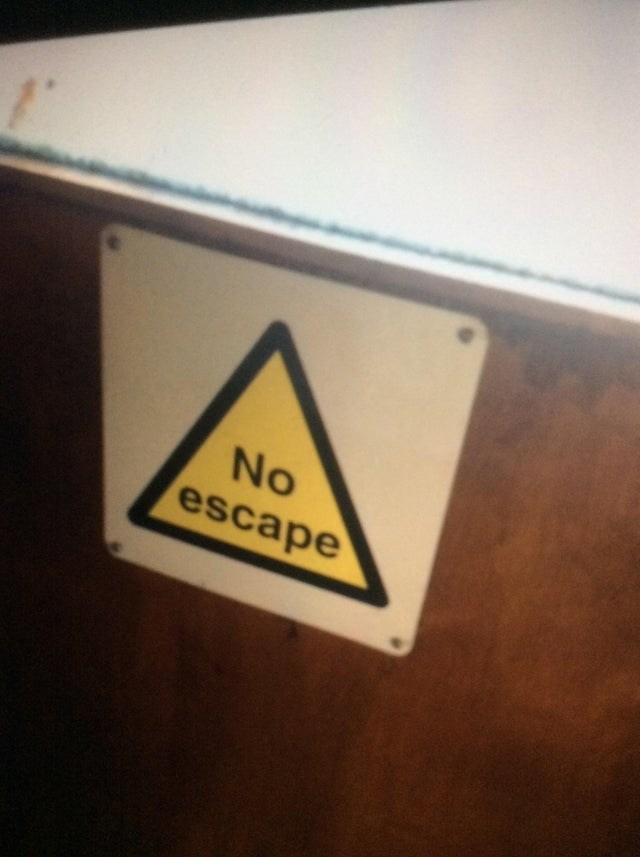 Yellow - No escape