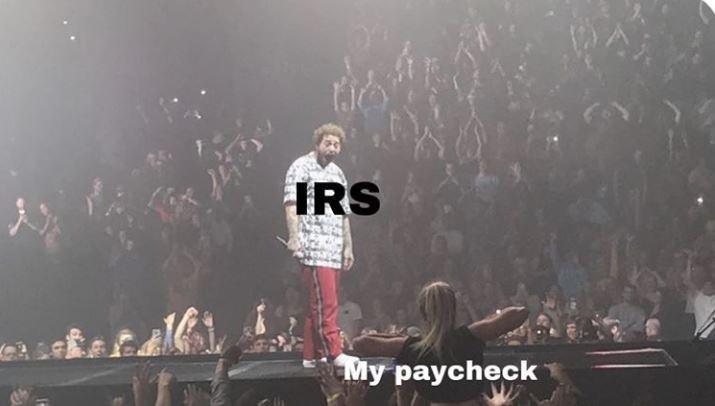 Performance - IRS My paycheck
