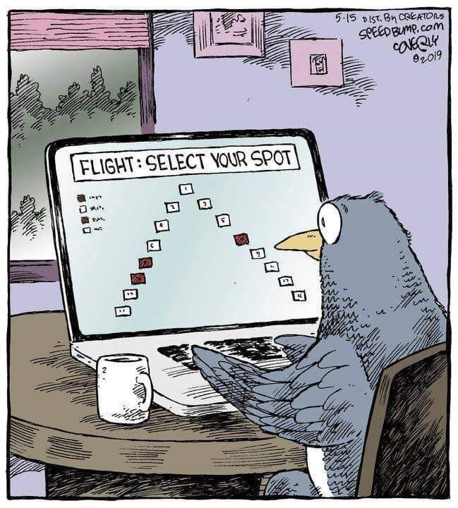 Cartoon - 5-15 DIST. BnCeEATONS SPEEDBUMP.com Oro19 FLIGHT: SELECT YOUR SPOT tas.