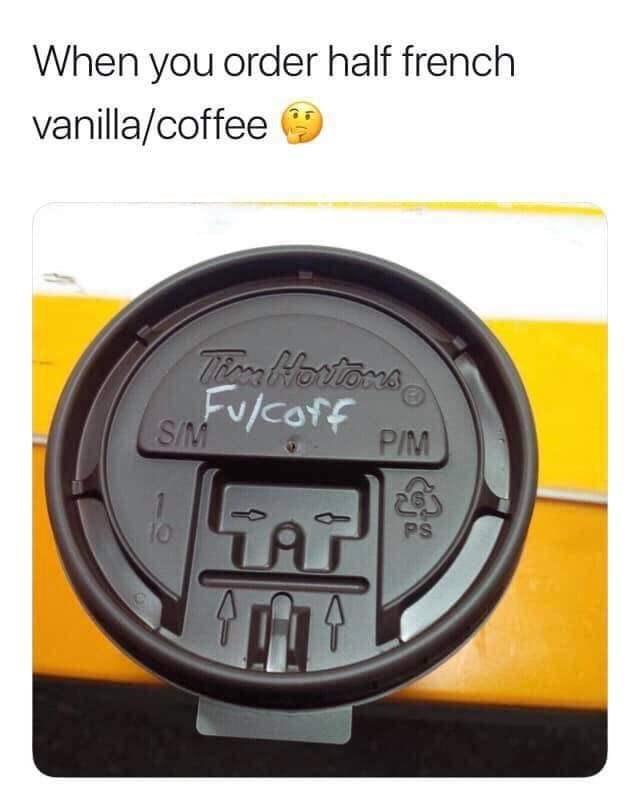 Speedometer - When you order half french vanilla/coffee Tern Harvtors FUlCOff S/M P/M TAT PS 10