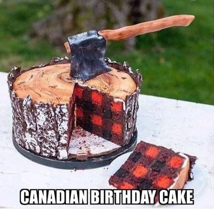 Tree - CANADIAN BIRTHDAY CAKE