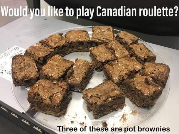 Food - Would you like to play Canadian roulette? pot