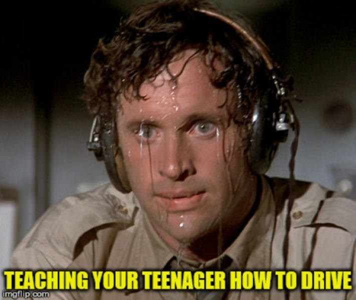 Face - TEACHING YOUR TEENAGER HOW TO DRIVE imgflip.com